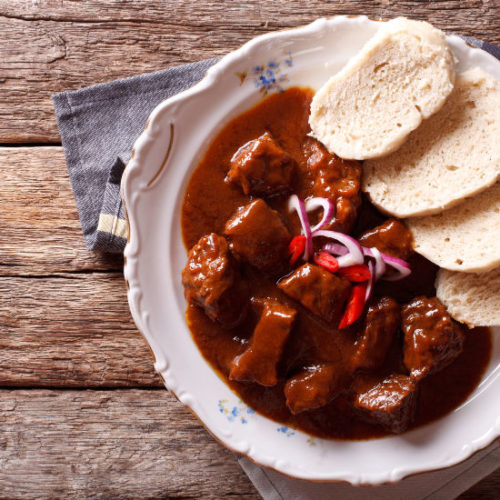 Traditional Czech Beef Goulash Recipe View From Prague